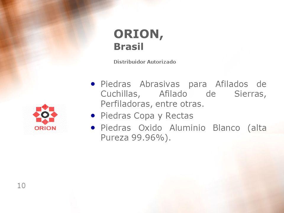 ORION, Brasil Distribuidor Autorizado
