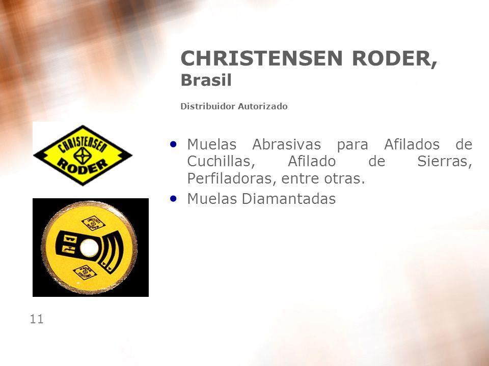 CHRISTENSEN RODER, Brasil Distribuidor Autorizado