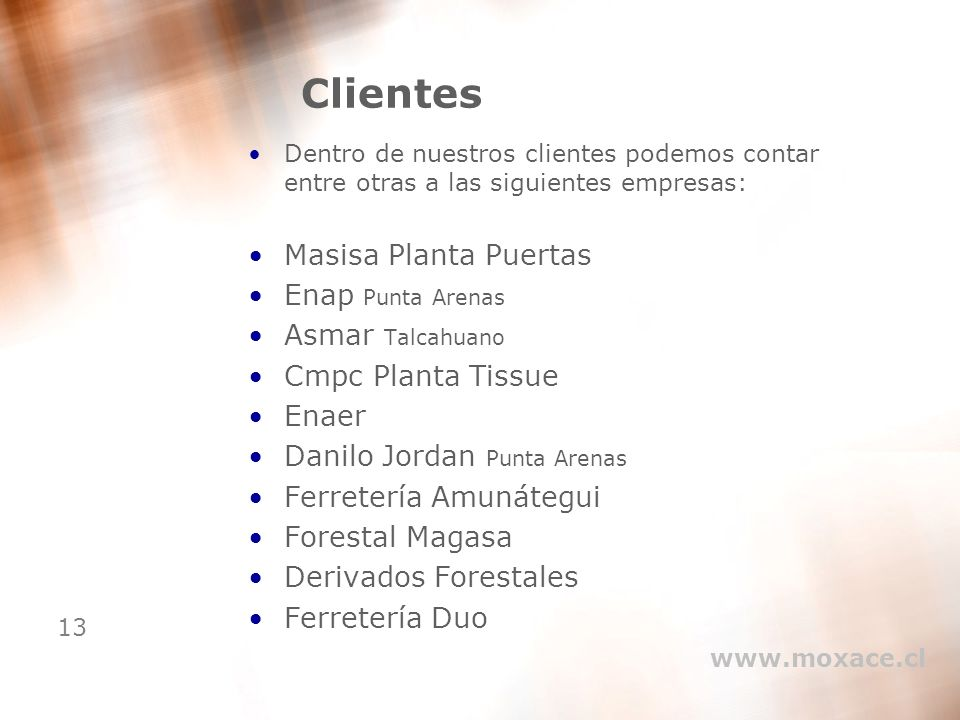 Clientes Masisa Planta Puertas Enap Punta Arenas Asmar Talcahuano