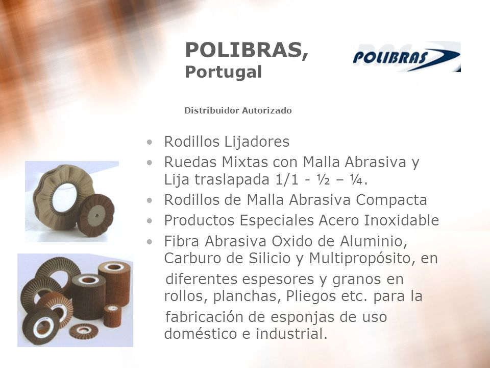 POLIBRAS, Portugal Distribuidor Autorizado