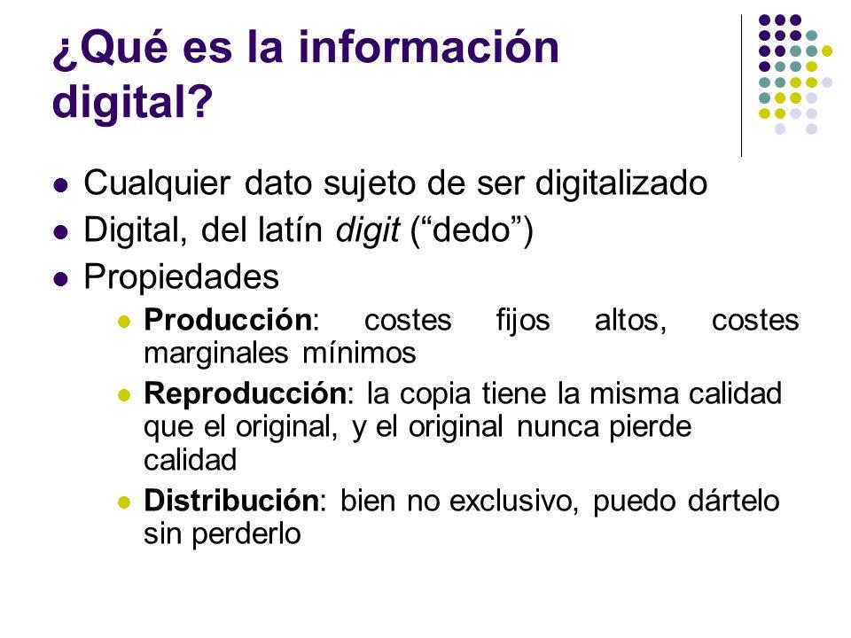 ¿Qué es la información digital