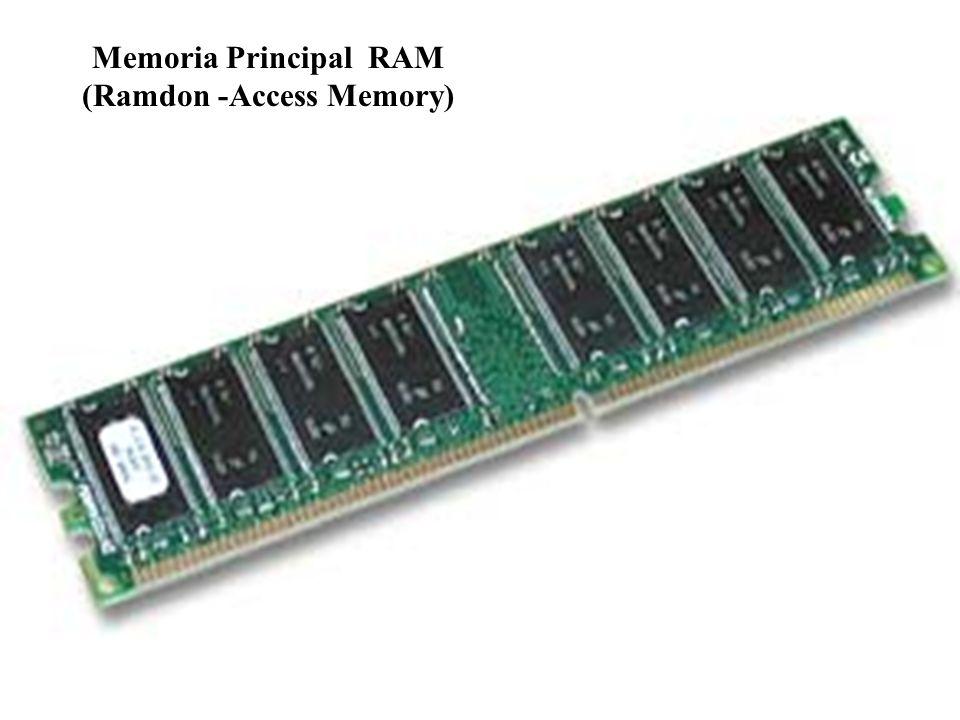 Memoria Principal RAM (Ramdon -Access Memory)