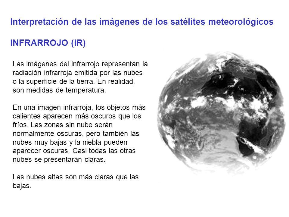 Interpretación de las imágenes de los satélites meteorológicos