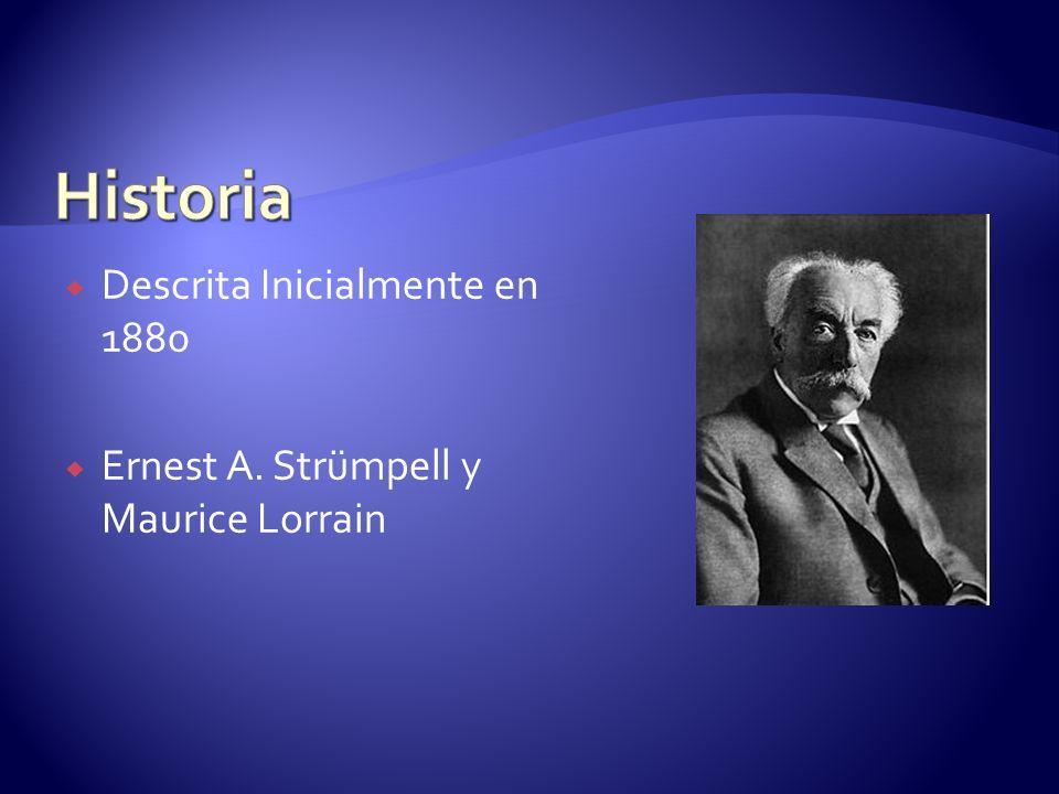 Historia Descrita Inicialmente en 1880