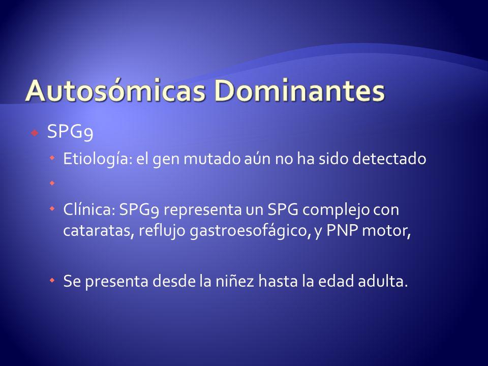 Autosómicas Dominantes