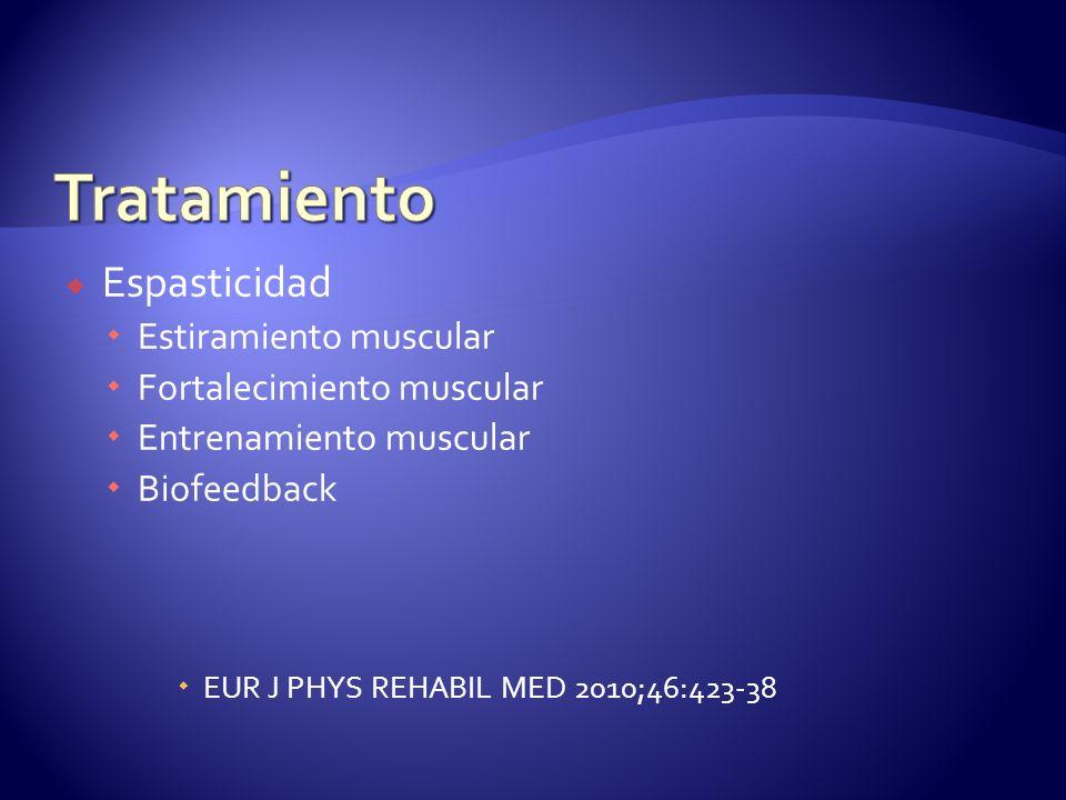 Tratamiento Espasticidad Estiramiento muscular