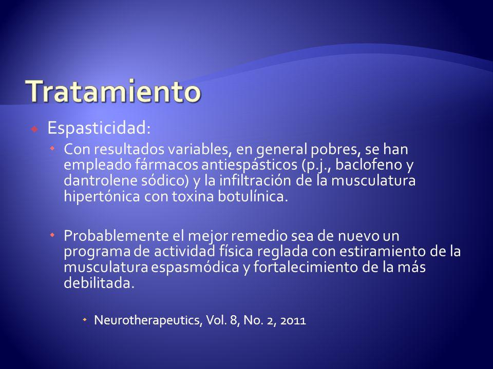 Tratamiento Espasticidad: