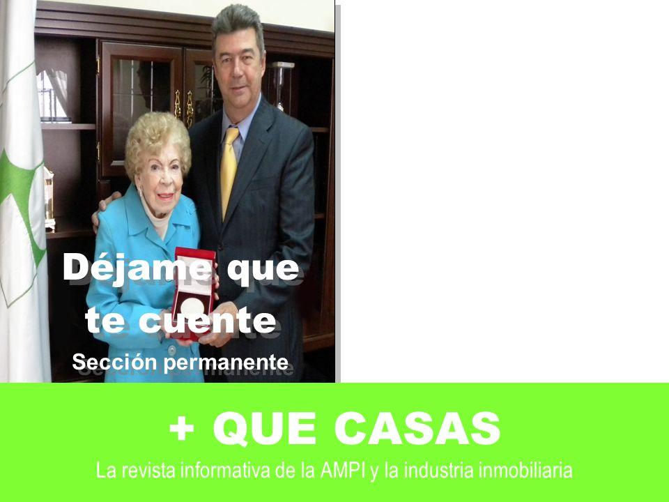 Déjame que te cuente. Sección permanente. En este caso entrevista con. Doña Guadalupe Arizcorreta.