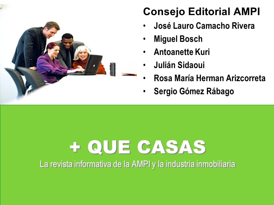 Consejo Editorial AMPI
