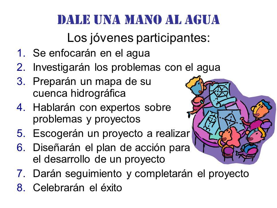 Los jóvenes participantes: