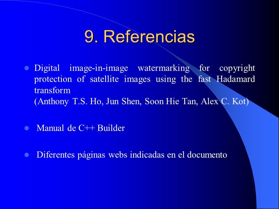 9. Referencias