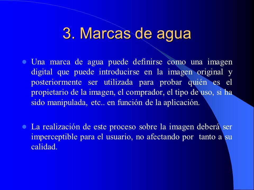 3. Marcas de agua