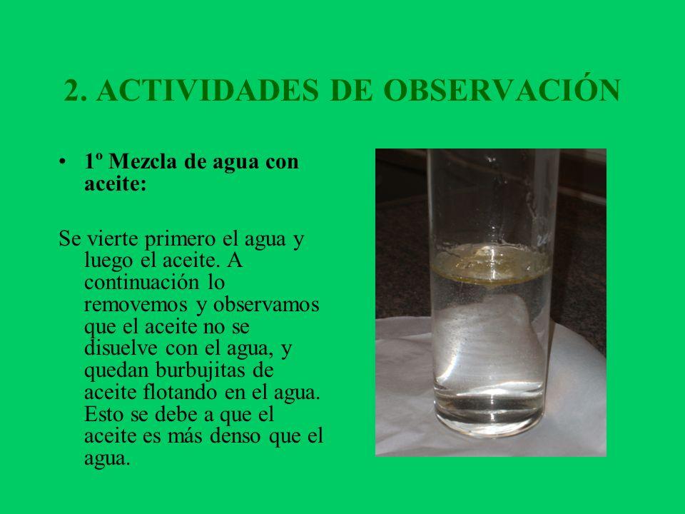 2. ACTIVIDADES DE OBSERVACIÓN