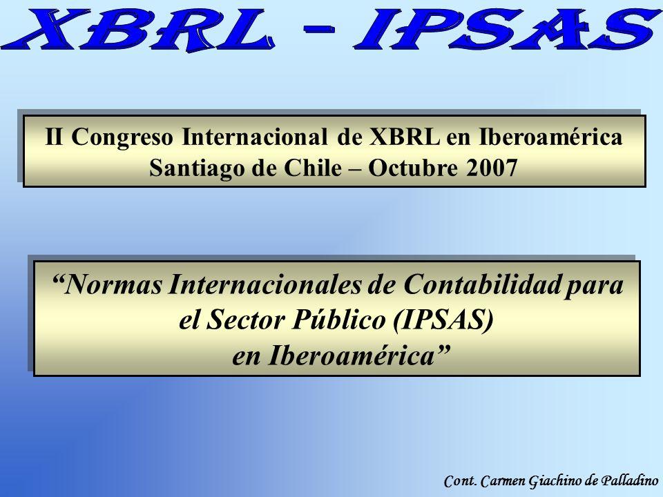 Normas Internacionales de Contabilidad para el Sector Público (IPSAS)