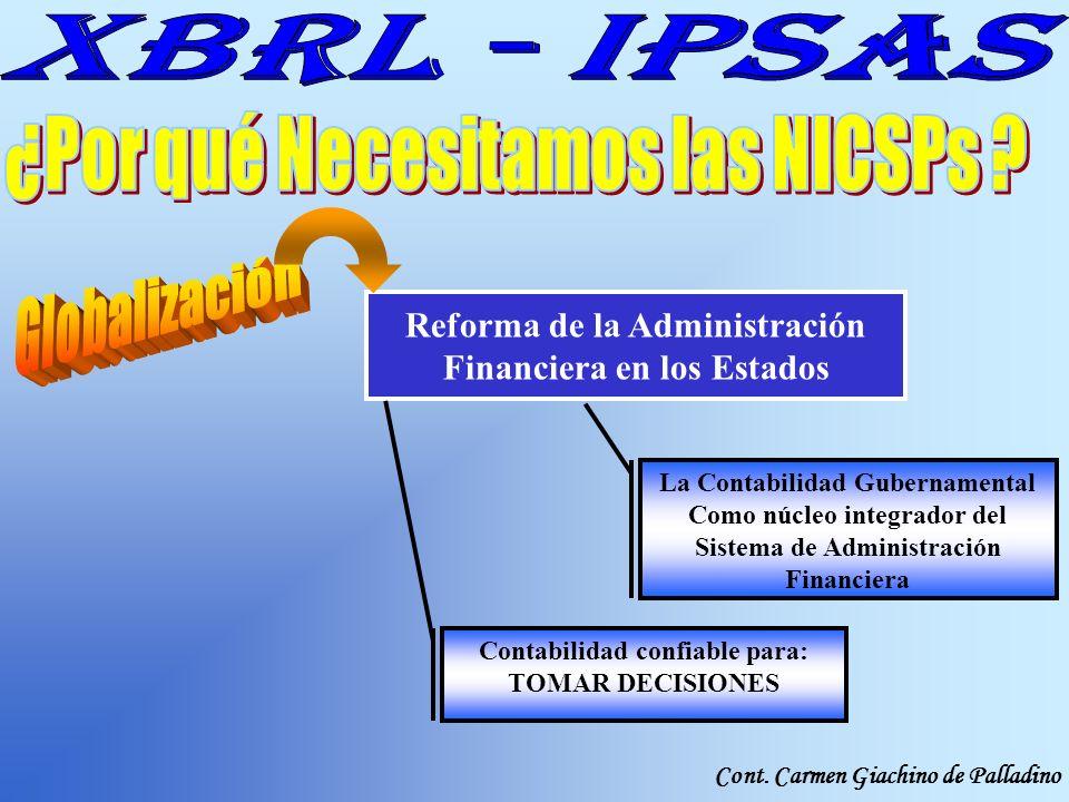 ¿Por qué Necesitamos las NICSPs