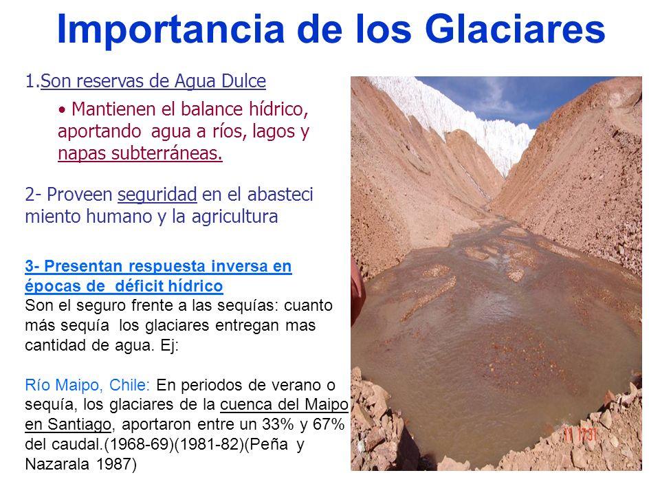 Importancia de los Glaciares