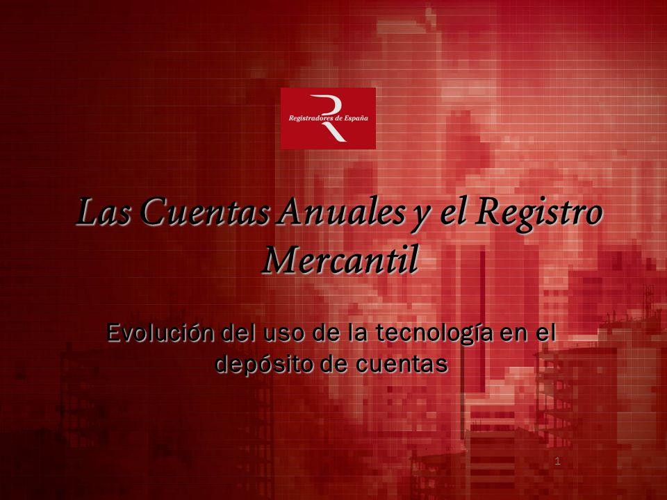 Las Cuentas Anuales y el Registro Mercantil