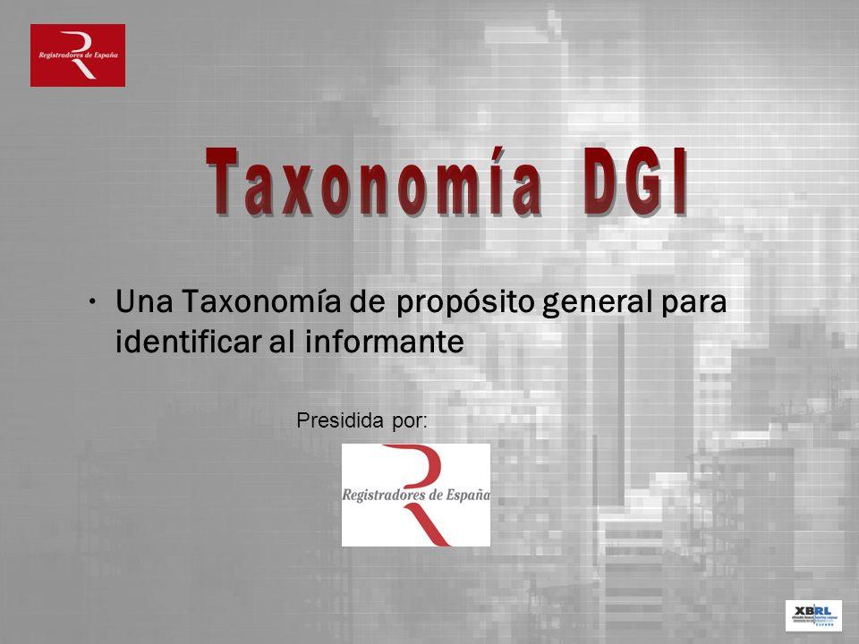 Una Taxonomía de propósito general para identificar al informante
