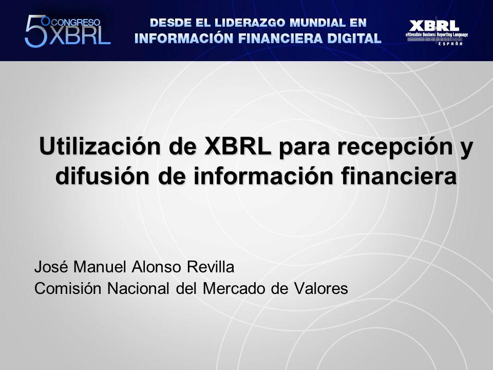 José Manuel Alonso Revilla Comisión Nacional del Mercado de Valores