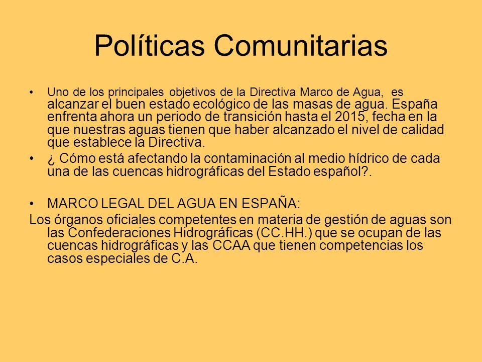 Políticas Comunitarias
