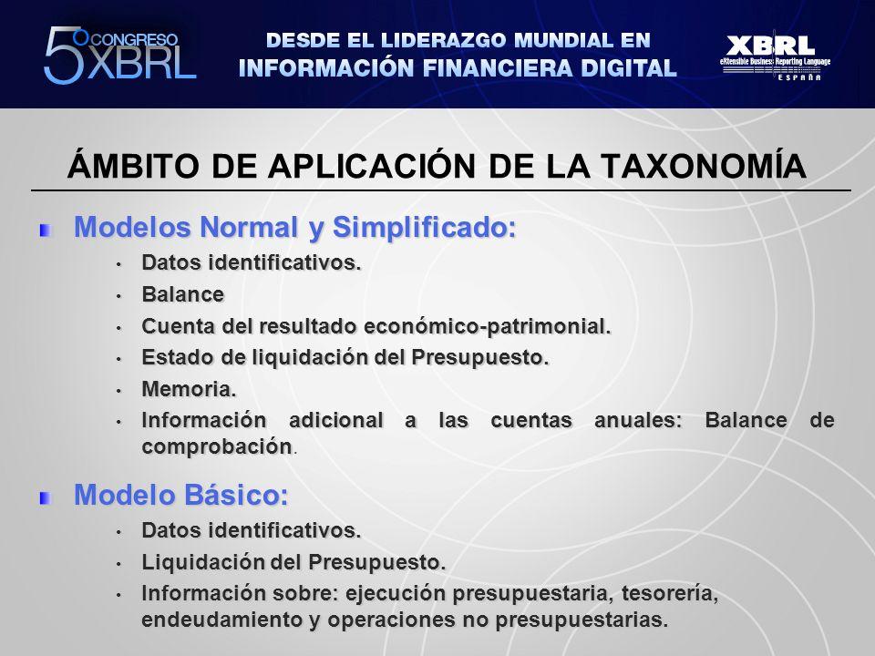 ÁMBITO DE APLICACIÓN DE LA TAXONOMÍA