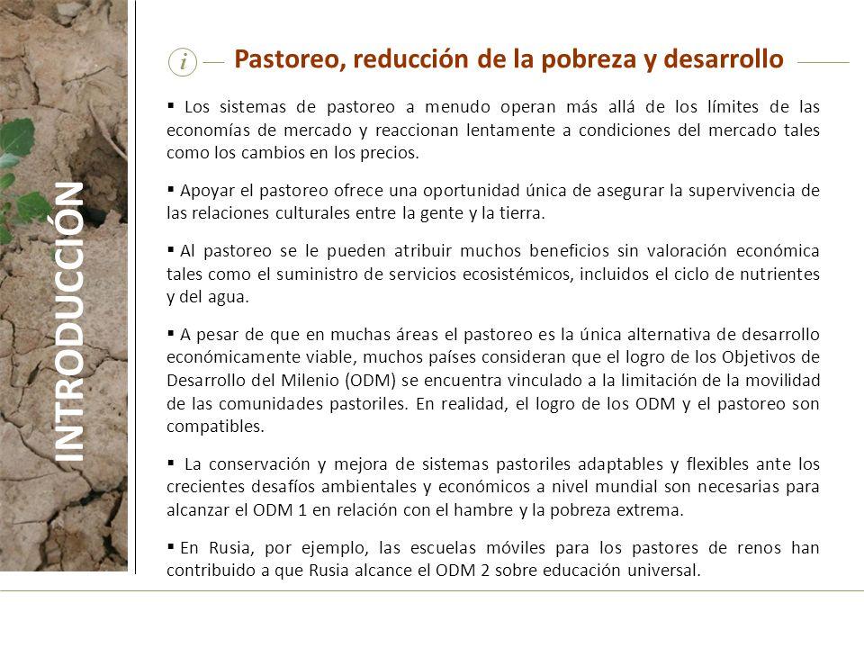 INTRODUCCIÓN Pastoreo, reducción de la pobreza y desarrollo i