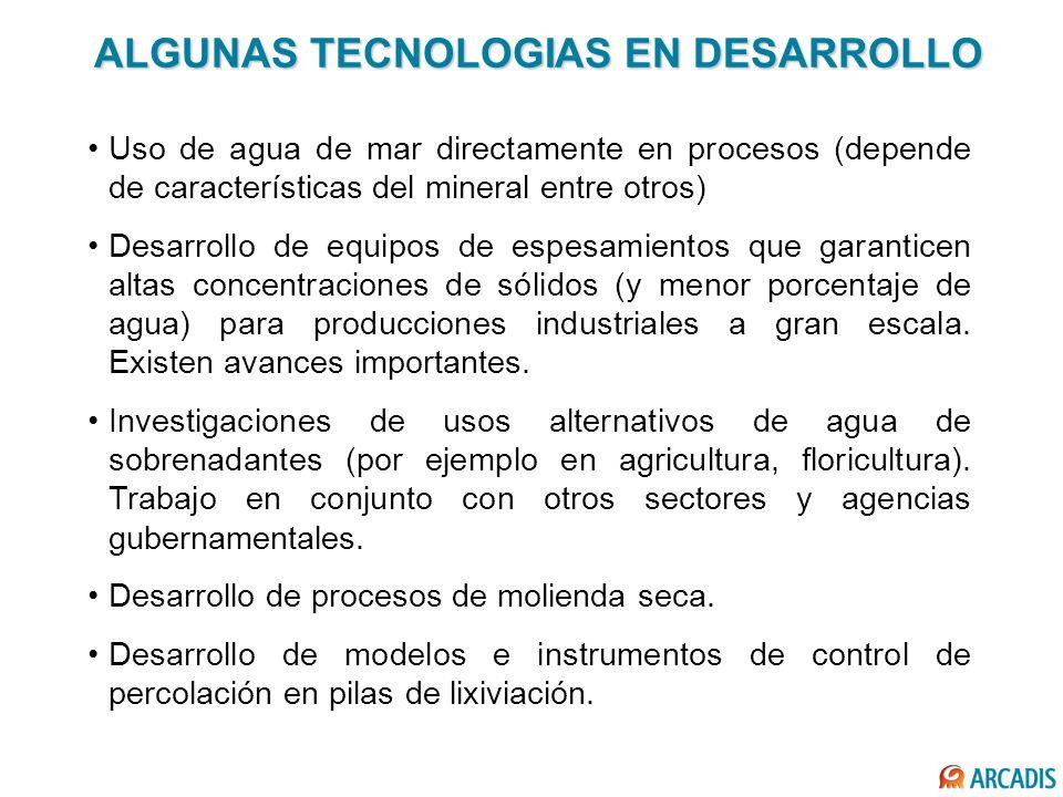ALGUNAS TECNOLOGIAS EN DESARROLLO