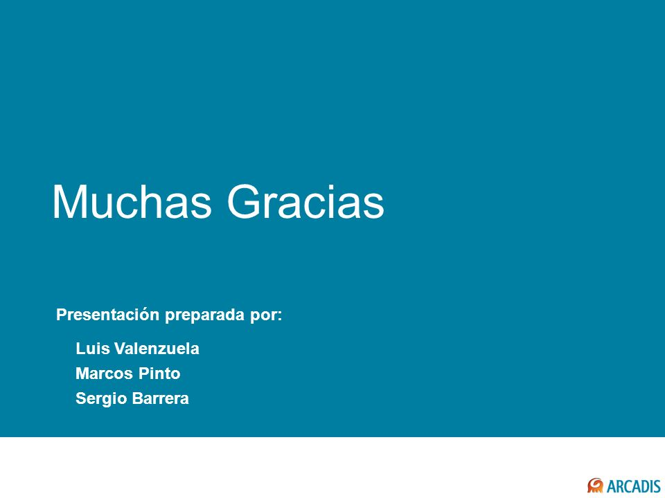Muchas Gracias COMENTARIOS FINALES Presentación preparada por: