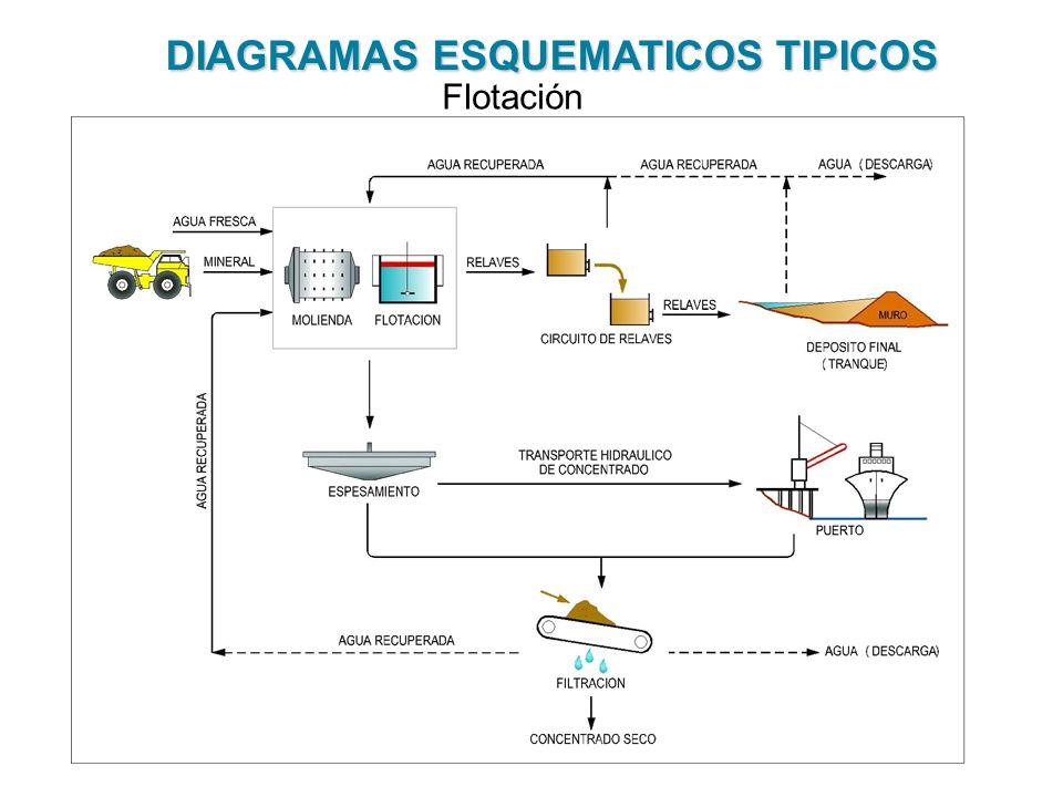 DIAGRAMAS ESQUEMATICOS TIPICOS