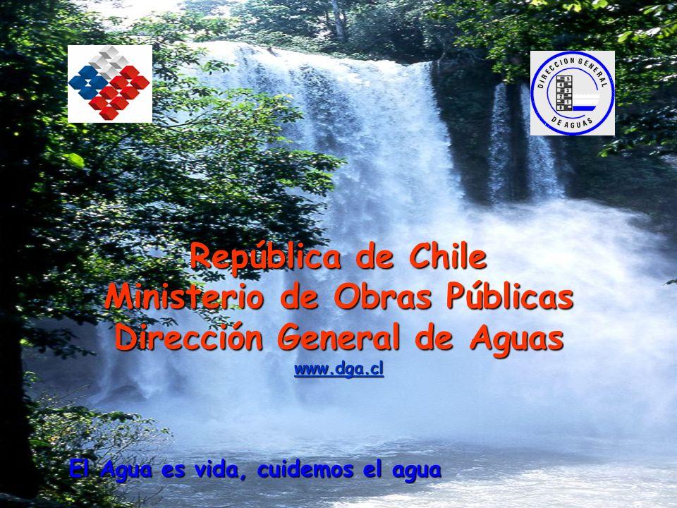 Ministerio de Obras Públicas Dirección General de Aguas www.dga.cl