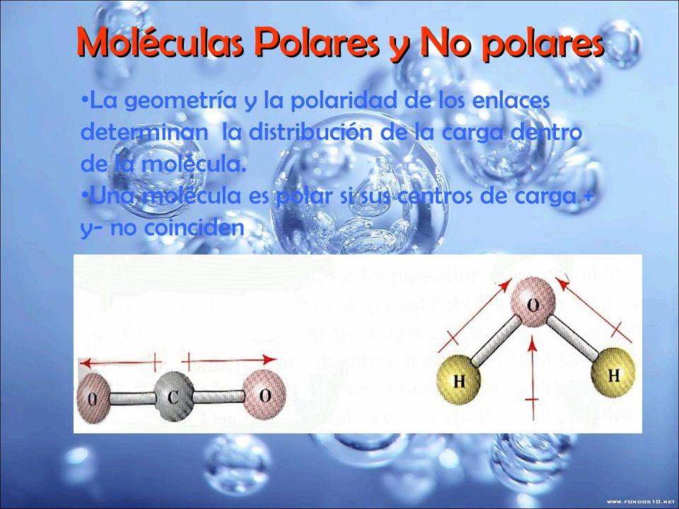 Moléculas Polares y No polares