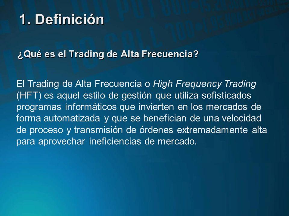 ¿Qué es el Trading de Alta Frecuencia