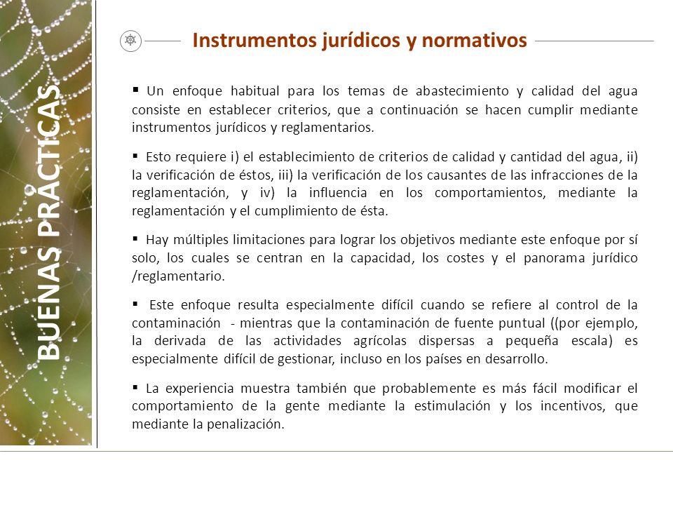 Instrumentos jurídicos y normativos