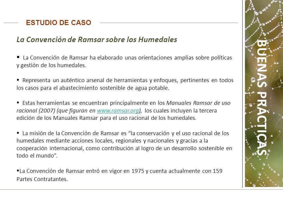 BUENAS PRÁCTICAS La Convención de Ramsar sobre los Humedales