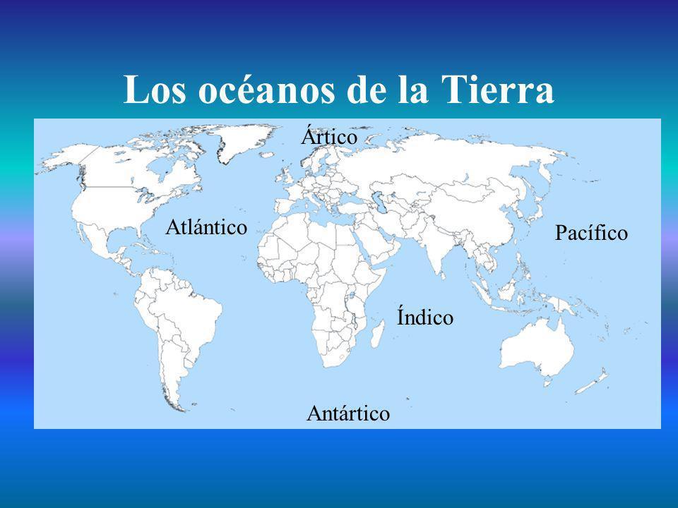 Los océanos de la Tierra