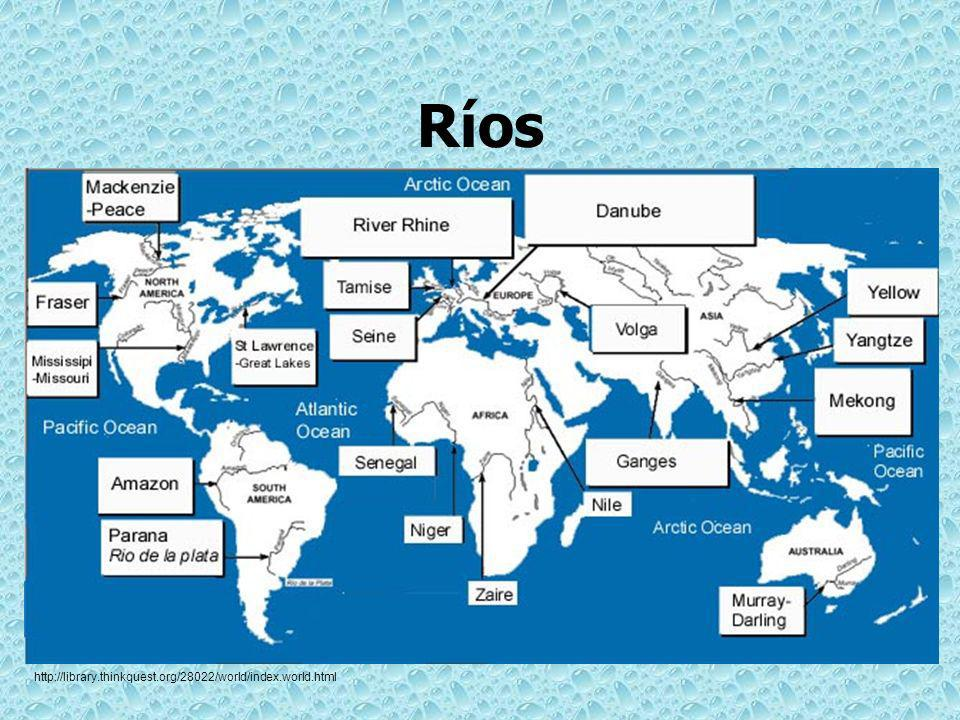 Ríos http://library.thinkquest.org/28022/world/index.world.html