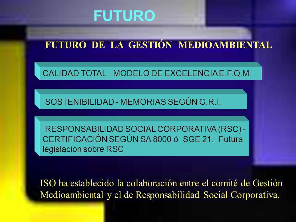 FUTURO FUTURO DE LA GESTIÓN MEDIOAMBIENTAL