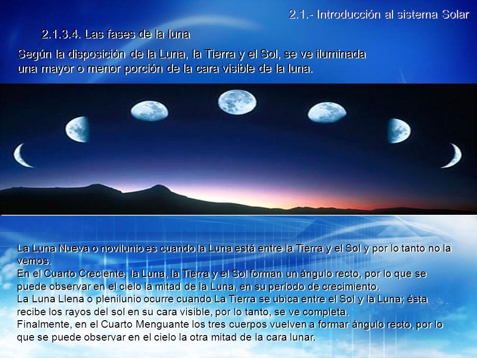 2.1.- Introducción al sistema Solar