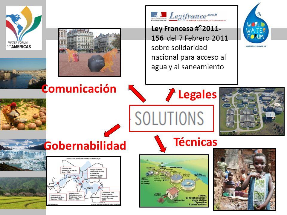 Comunicación Legales Técnicas Gobernabilidad