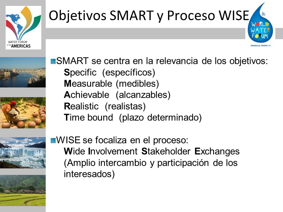 Objetivos SMART y Proceso WISE
