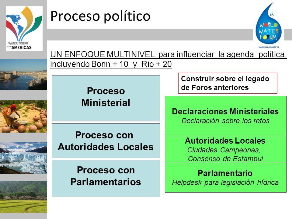 Declaraciones Ministeriales