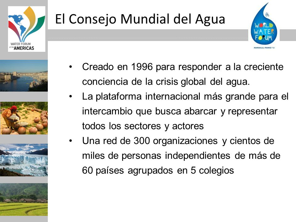 El Consejo Mundial del Agua