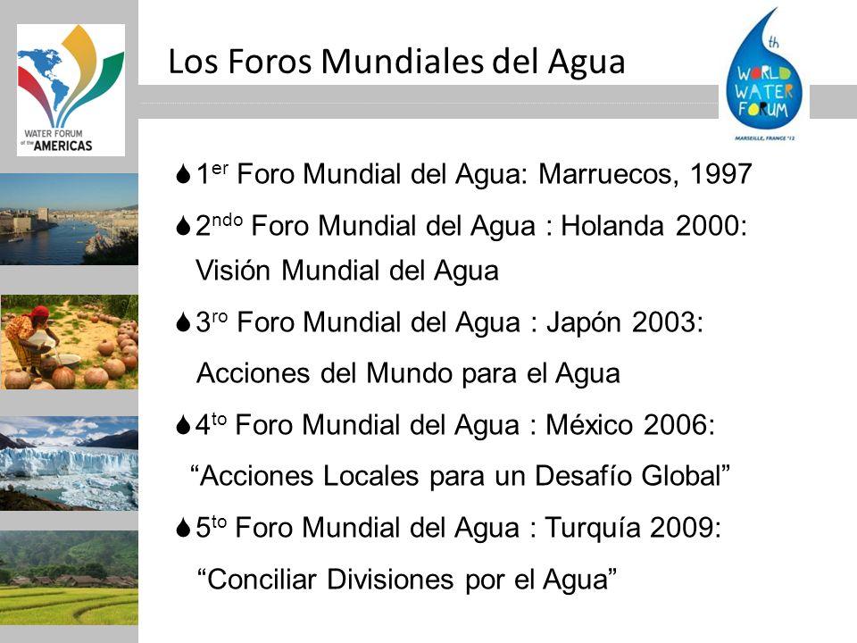 Los Foros Mundiales del Agua