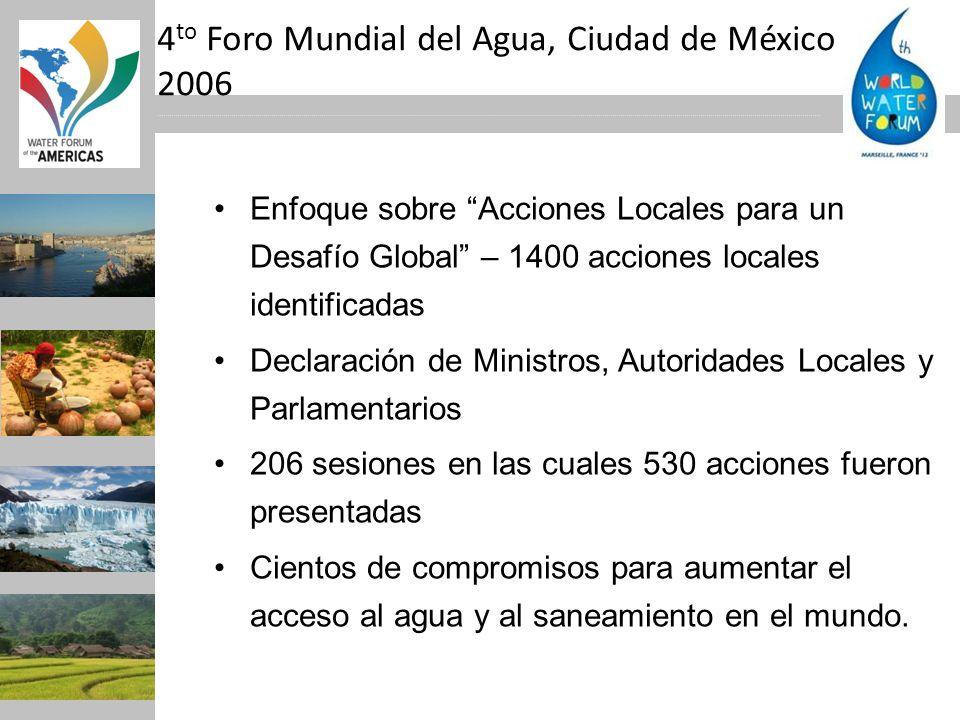 4to Foro Mundial del Agua, Ciudad de México 2006