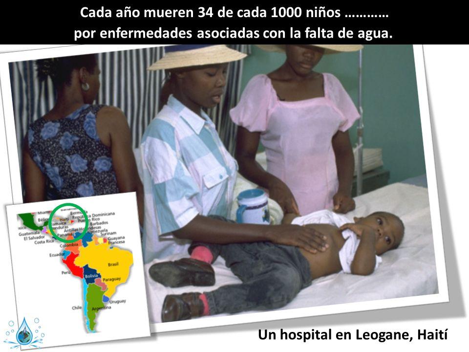 Cada año mueren 34 de cada 1000 niños …………