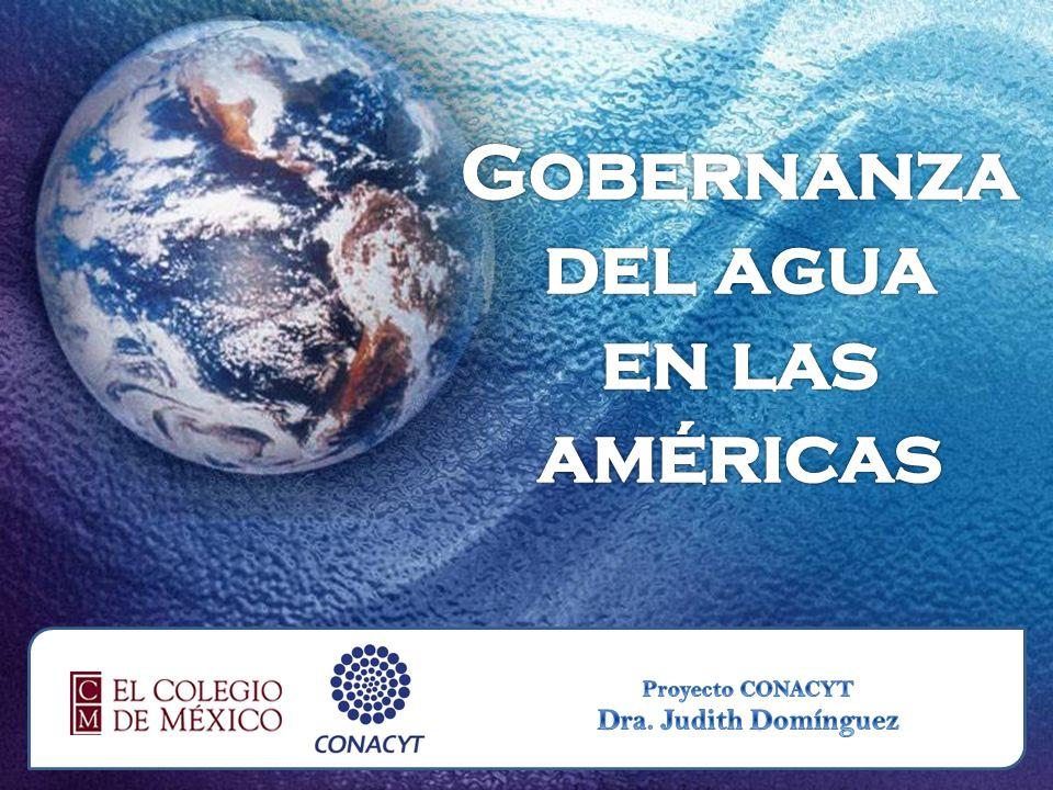 Gobernanza del agua en las américas