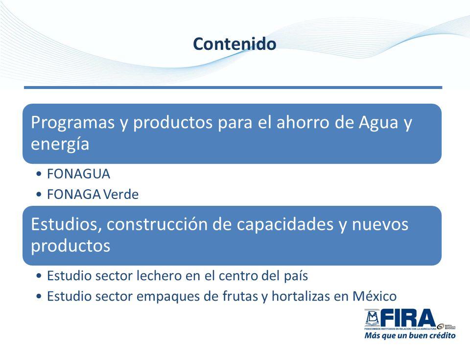 Programas y productos para el ahorro de Agua y energía