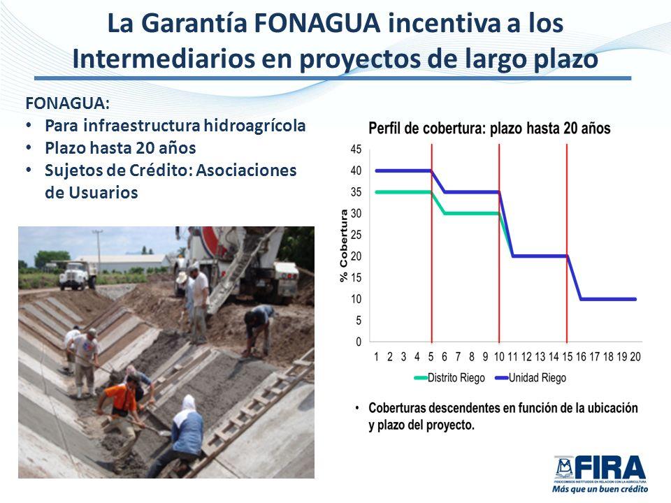 La Garantía FONAGUA incentiva a los Intermediarios en proyectos de largo plazo