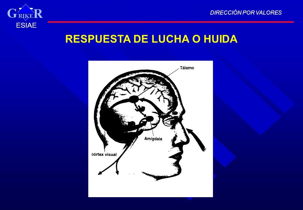 RESPUESTA DE LUCHA O HUIDA