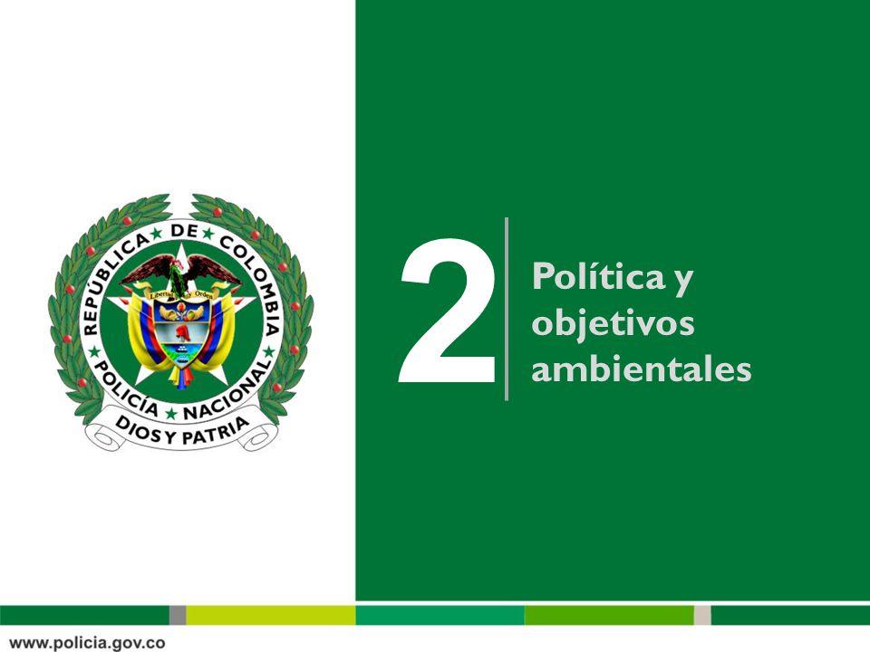 Política y objetivos ambientales